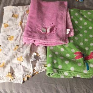Bundle of Baby Blankets